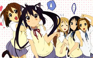 Rating: Safe Score: 30 Tags: akiyama_mio animal_ears catgirl hirasawa_yui k-on! kotobuki_tsumugi nakano_azusa tainaka_ritsu User: 秀悟