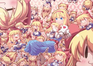 Rating: Safe Score: 65 Tags: alice_margatroid blonde_hair chibi dress touhou User: opai