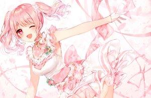 Rating: Safe Score: 54 Tags: bang_dream! breasts cleavage maruyama_aya pink tagme taya_(pixiv5323203) twintails watermark User: Dreista