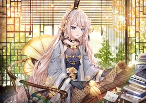 Rating: Safe Score: 59 Tags: animal bird book kity1211_tetsu long_hair paper pink_hair shoku_monogatari tagme_(character) User: BattlequeenYume