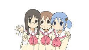 Rating: Safe Score: 37 Tags: aioi_yuuko minakami_mai naganohara_mio nichijou User: Medzy