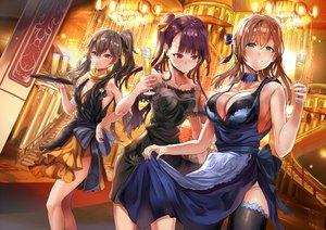 Rating: Safe Score: 102 Tags: aliasing anthropomorphism dress girls_frontline himuro_(dobu_no_hotori) springfield_(girls_frontline) ump-45_(girls_frontline) wa2000_(girls_frontline) User: BattlequeenYume