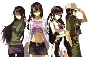 Rating: Safe Score: 68 Tags: black_hair chinese_dress durarara!! hat long_hair skirt thighhighs twintails white yagiri_namie User: w7382001