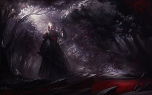 Rating: Safe Score: 214 Tags: alcd fate/stay_night saber saber_alter sword weapon User: Tensa