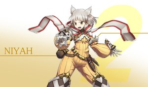 Rating: Safe Score: 62 Tags: animal_ears gradient niyah_(xenoblade) soltho xenoblade User: BattlequeenYume