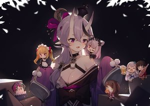 Rating: Safe Score: 61 Tags: akabane_youko apron black_eyes black_hair blonde_hair blush breasts brown_hair chibi choker cleavage demon drink fang gray_hair green_eyes headdress honey_strap horns japanese_clothes joe_rikiichi kimono long_hair maid male nijisanji ponytail purple_eyes red_eyes rindou_mikoto school_uniform setsuna_(nijisanji) sh_(562835932) short_hair skirt suou_patra suzuka_utako takamiya_rion thighhighs wink zettai_ryouiki User: otaku_emmy