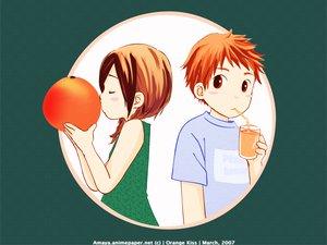Rating: Safe Score: 7 Tags: orange_kiss User: 秀悟
