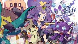 Rating: Safe Score: 68 Tags: acerola_(pokemon) aqua_eyes banette black_hair chandelure dhelmise dress drifblim froslass gengar gray_hair group kingin kuchinashi_(pokemon) loli male meowth mimikyu mizuki_(pokemon) palossand pokemon purple_eyes purple_hair red_eyes sableye short_hair User: otaku_emmy