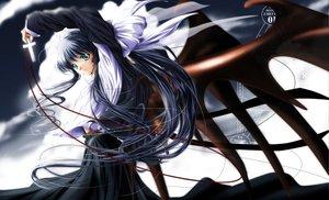 Rating: Safe Score: 35 Tags: blue_eyes cross green_eyes kanon kawasumi_mai long_hair wings yukirin User: Oyashiro-sama