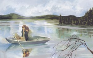 Rating: Safe Score: 67 Tags: boat bokura_ga_ita scenic takahashi_nanami water yano_motoharu User: the_buzzsaw
