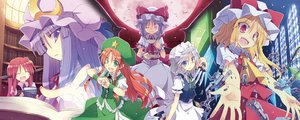 Rating: Safe Score: 59 Tags: flandre_scarlet hong_meiling izayoi_sakuya koakuma patchouli_knowledge remilia_scarlet satoukibi touhou User: FormX