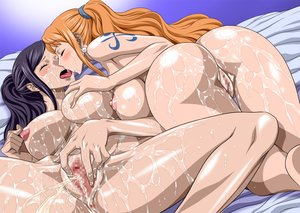 Rating: Explicit Score: 271 Tags: anus ass censored nami nel-zel_formula nico_robin nude one_piece pussy wet yuri User: Freenight