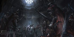 Rating: Safe Score: 59 Tags: abyss_watcher armor cape dark_souls hat stu_dts sword weapon User: otaku_emmy