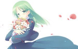 Rating: Safe Score: 6 Tags: cuffs flowers garden_(galge) petals white User: 秀悟