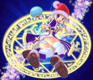 Rating: Safe Score: 16 Tags: animal brown_hair hat magic panties purple_eyes santa_hat skirt tagme_(artist) tagme_(character) thighhighs underwear upskirt wand User: Oyashiro-sama