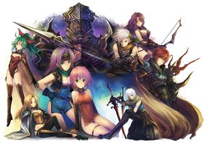 Rating: Safe Score: 110 Tags: armor blonde_hair blue_eyes bow_(weapon) celes_chere chinese_clothes chinese_dress dress faris_scherwiz final_fantasy final_fantasy_iv final_fantasy_v final_fantasy_vi golbeza green_eyes green_hair kara_(color) lenna_charlotte_tycoon long_hair male pink_hair ponytail purple_hair red_hair short_hair spear sword tagme_(character) thighhighs tina_branford weapon white_hair User: C4R10Z123GT