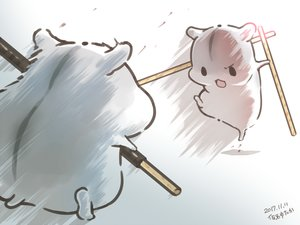 Rating: Safe Score: 49 Tags: animal food kick original pocky polychromatic signed yutaka_kana User: otaku_emmy
