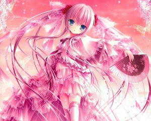 Rating: Safe Score: 204 Tags: fan loli lolita_fashion long_hair original panties petals pink_hair see_through thighhighs tinkerbell tinkle twintails underwear User: Wiresetc