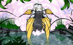 Rating: Safe Score: 41 Tags: aa_megami-sama flowers grass gray_hair leaves morgan_le_fay vector water wings yellow_eyes User: gnarf1975
