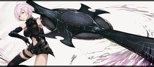 Rating: Safe Score: 66 Tags: fate/grand_order fate_(series) marumoru mash_kyrielight User: luckyluna