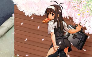 Rating: Safe Score: 20 Tags: dengeki_moeoh food miyu_tsujiboshi petals tanaka_kunihiko User: Oyashiro-sama