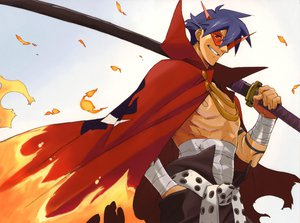 Rating: Safe Score: 29 Tags: kamina nishigori_atsushi sword tengen_toppa_gurren_lagann weapon User: haru3173