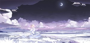 Rating: Safe Score: 153 Tags: asakura_masatoki clouds dress moon night original sky User: HawthorneKitty