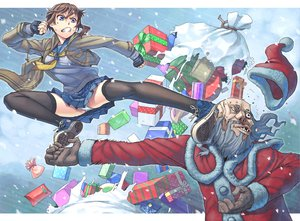 Rating: Safe Score: 141 Tags: christmas gloves hat itou_(onsoku_tassha) original panties santa_claus seifuku snow tagme thighhighs underwear User: opai