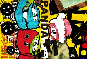 Rating: Safe Score: 20 Tags: gumi hatsune_miku matryoshka_(vocaloid) panda_hero_(vocaloid) vocaloid User: Tsuchi