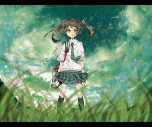 Rating: Safe Score: 56 Tags: school_uniform sky tagme User: Kunimura