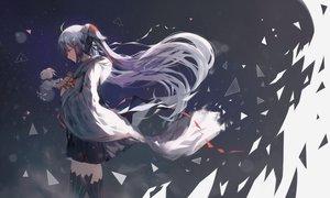 Rating: Safe Score: 87 Tags: hatsune_miku long_hair natsumoka twintails vocaloid yuki_miku User: luckyluna