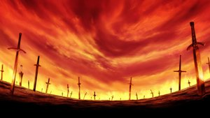 Rating: Safe Score: 92 Tags: fate_(series) fate/stay_night landscape nobody scenic sword weapon User: patokite91