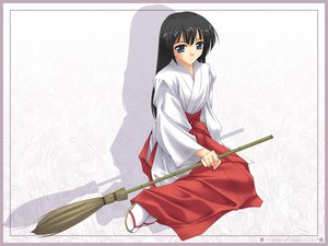 Rating: Safe Score: 4 Tags: japanese_clothes miko murakami_suigun User: Oyashiro-sama