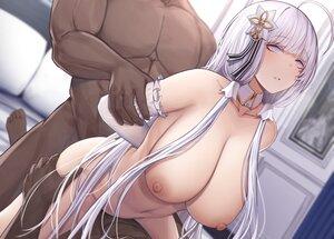 Rating: Explicit Score: 70 Tags: anal anthropomorphism azur_lane breasts gray_eyes illustrious_(azur_lane) long_hair navel nipples nude sex siu_(siu0207) white_hair User: BattlequeenYume