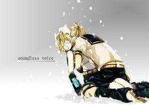 Rating: Safe Score: 30 Tags: kagamine_len kagamine_rin mizuki_aoi_(mizuki_a) snow vocaloid User: MissBMoon