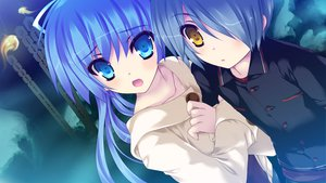 Rating: Safe Score: 29 Tags: blades_heart game_cg hug male shimesaba_kohada toonogawa_setsuna User: Maboroshi