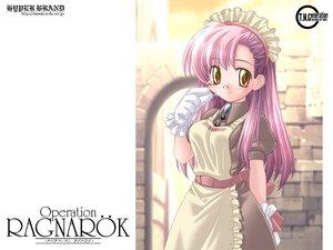 Rating: Safe Score: 17 Tags: apron bow glasses gloves headdress ishihara_masumi jpeg_artifacts kafra long_hair maid pink_hair ragnarok_online yellow_eyes User: Oyashiro-sama