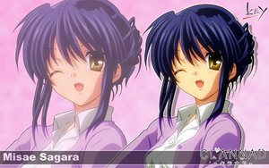 Rating: Safe Score: 11 Tags: clannad key logo sagara_misae zoom_layer User: 秀悟