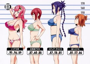 Rating: Questionable Score: 52 Tags: bra breasts celia_ootsuka cleavage kushiya_inaho maken-ki! mideiya_demitra panties scan shinatsu_azuki striped_panties takeda_hiromitsu underwear User: Wiresetc