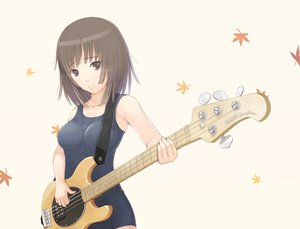 Rating: Safe Score: 69 Tags: bakemonogatari guitar instrument monogatari_(series) school_swimsuit sengoku_nadeko swimsuit User: HawthorneKitty