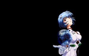 Rating: Safe Score: 27 Tags: ayanami_rei black blue_hair bodysuit earth neon_genesis_evangelion planet red_eyes skintight User: Eruku