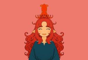 Rating: Safe Score: 20 Tags: akai_sashimi animal long_hair original pink pointed_ears polychromatic red_hair User: otaku_emmy
