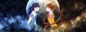 Rating: Safe Score: 6 Tags: katase_shima moon otoyama_kouta uchuu_no_stellvia User: Oyashiro-sama