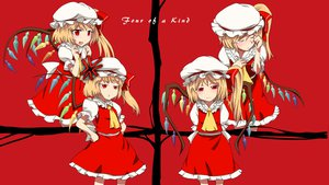 Rating: Safe Score: 39 Tags: blonde_hair dress flandre_scarlet hat red red_eyes sinzan touhou wings User: opai