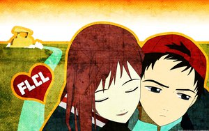 Rating: Safe Score: 25 Tags: flcl nandaba_naota samejima_mamimi User: Reibear