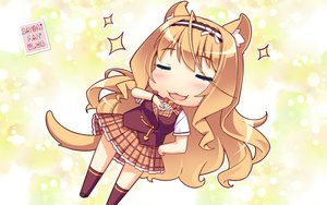 Rating: Safe Score: 32 Tags: animal_ears catgirl cat_smile maple_(sayori) nekopara sayori tail watermark User: RyuZU