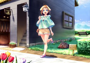 Rating: Safe Score: 73 Tags: blue_eyes cojibou flowers original User: opai