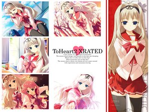Rating: Safe Score: 15 Tags: aquaplus kawata_hisashi kusugawa_sasara leaf to_heart to_heart_2 User: 秀悟