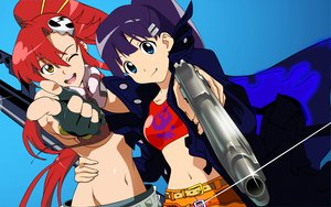 Rating: Safe Score: 45 Tags: kiyal tengen_toppa_gurren_lagann yoko_littner User: 秀悟
