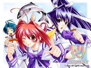 Rating: Safe Score: 1 Tags: age blue_eyes blue_hair kagami_sumika long_hair mitsurugi_meiya muv-luv muv-luv_supplement red_eyes red_hair yoroi_mikoto User: Oyashiro-sama